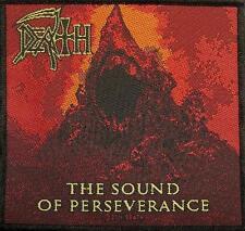 DEATH AUFNÄHER / PATCH # 10 THE SOUND OF PERSEVERANCE - 10x10cm