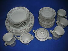 CHERYL / 6503 china by Fine China of Japan: 44-pc. dinnerware set w/serving pcs.