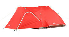 Coleman Hooligan 4 Person Waterproof Backpacking Camping Dome Tent w/ Rainfly