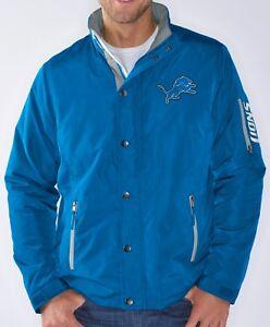 "Detroit Lions NFL G-III ""Sack"" Full Zip Concealed Hood Polyfill Jacket"