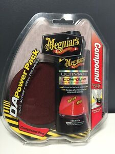 Meguiars DA Compound Power Pad + Compound Polish