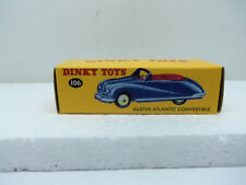 Atlas Dinky Toys No 106  Austin Atlantic Convertible in Red - New in Box