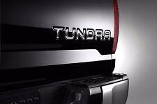 Toyota Tundra 2015-2017 Raised Chrome Tailgate Emblems Insert Badges - OEM NEW!
