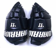 "New Warrior Fatboy box lacrosse goalie gloves 14"" navy Lax indoor senior goal"
