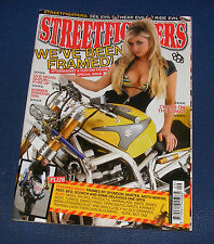 STREETFIGHTERS MAGAZINE SEPTEMBER 2008 - WE'VE BEEN FRAMED!