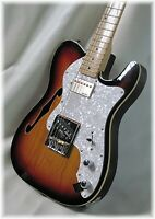 Thin line deluxe in sunburst Ash  ( NO ONE makes them better ) By Dillion