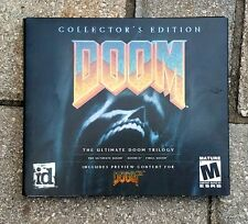 Collector's Edition Doom The Ultimate Trilogy PC CD-ROM ID Software 2003 GAME