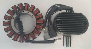 Stator & Voltage Regulator for Harley Davidson 2007 Softail 74540-07 30017-07