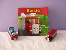 Thomas the Tank Engine,take-a-long train & Bertie the Bus small book & bus