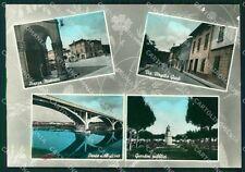 Pisa Santa Croce sull'Arno PIEGHINA ABRASA Foto FG cartolina KF3261