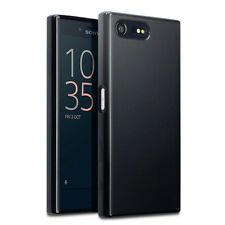 Original Sony Xperia X Compact Case Slim Protective TPU Gel Tech S Grip Black