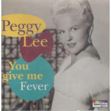 Peggy Lee -You Give Me Fever (Audio CD - Aug 25, 1998) - Import  NEW