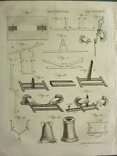 1797 georgiano impresión ~ Magnetismo ~ diferentes diagramas aparatos Imanes