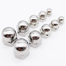 1/50pcs M3-M16 304 Stainless Steel Hex Acorn Nut Cap Decorative Cover Dome Nuts