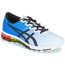 Para Hombre Zapatos Asics Gel Quantum 180 4 Blanco/Azul/Zapatos De Entrenamiento Negro