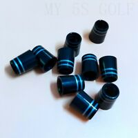 12PCS .355 Golf Iron Ferrule for Taylormade Callaway Titleist Double Grey Ring