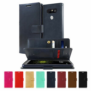 MERCURY GOOSPERY Mansoor Diary Wallet Flip Cover LG G8 G7 G6 G5 V50 V40 V30 Case