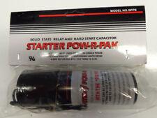 SPP6 Hard Start Kit Capacitor Relay 1/2HP-10HP Increases Torque 500% Pow-R-Pak