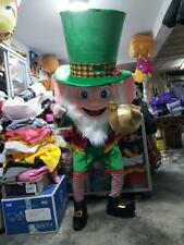 Leprechaun Irish Man Mascot Costume Character Cosplay Halloween Party Event