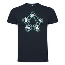 Camiseta Big Bang Theory - Piedra Papel Tijeras Lagarto Spock