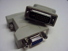 DVI-D (M) 24+1 Single link to VGA (F) adapter DVI241