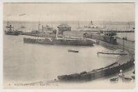 Hampshire postcard - Southampton - Royal Pier - LL No. 6 - P/U 1928 (A257)
