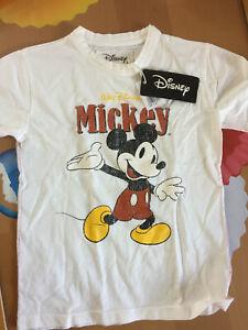 Personnalisé Américain Mickey 2-12 An Disney Vacances Enfants T-Shirt