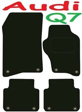Tailored Deluxe Quality Car Mats Audi Q7 2006 Onwards ** Black ** 4x4 Jeep