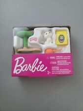 Barbie Loves Pets Accessories White Cat (Kitty) New In Box By Mattel