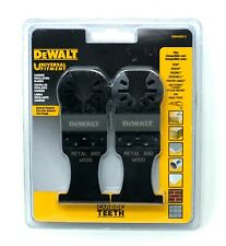 Dewalt DWA4250-2 Carbide Teeth Oscillating Tool Blades - Universal Fitment