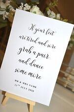 Wedding Flip Flop Basket sign Venue Signs Wedding Venue Decor