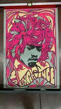 Vintage Jimi Hendrix poster