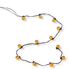 Dept 56 Halloween Jack-O-Lantern Lights String/12 #810800 Nib Free Ship Offer