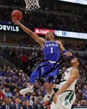 Trevon Duval Duke Blue Devils Basketball Signed 8X10 Photo Rp ACC