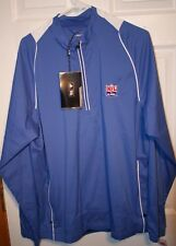 Adidas Golf Climaproof NFL Alumni Nike Men Large 1/2 Zip Pullover New w/tags NWT