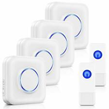 Wireless Doorbell BITIWEND 1000 Feet/300 M Long Range Door Bells, Mini IP55