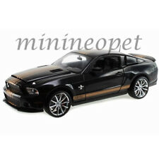 SHELBY COLLECTIBLES SC 322 2012 FORD SHELBY GT 500 SUPER SNAKE 1/18 BLACK GOLD
