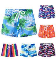 Toddler Baby Boys Kids Print Swimwear Swimsuit Beach Bathing Pants Casual Shorts