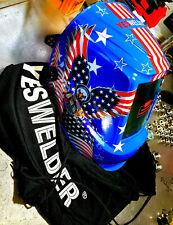 Large View Solar True Color Welder Helmet Tig Mig Auto Darkening Welding Helmet