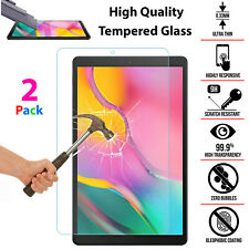 2 Pack 9H Tempered Glass Clear HD Screen Protector For All Samsung Galaxy Tablet