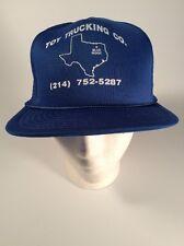 Vintage Trucker Hat, Blue Ridge Texas, Toy Trucking Co.