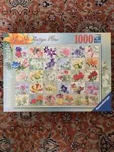 Ravensburger, Vintage Flora, 1000 Piece Jigsaw Puzzle