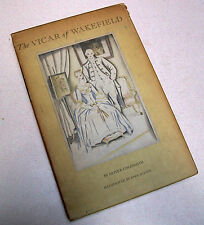 THE VICAR OF WAKEFIELD, Oliver Goldsmith 1939, Illustrated by John Austen, wSlip