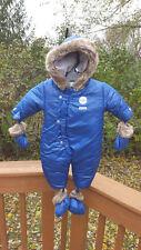 Absorba Baby Snowsuit Sz. 3-6 months  Royal Blue