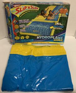 Wham-O Hydroplane Double XL Slip 'N Slide Splash Pool 2 Slide Boogies Summer