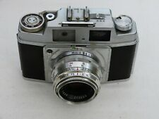 AGFA AMBI SILETTE 35mm Camera, Color-Solinar 50mm f2.8 lens & Leather ER.Case