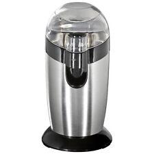 Clatronic KSW 3307 - Molinillo de café eléctrico, 120 W, acero inoxidable