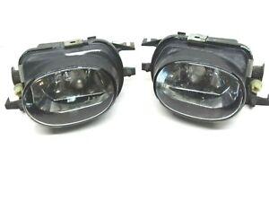 Mercedes Pair Fog Light Lamps Bumper C209 C215 W203 W211 2308200356 2308200456
