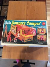 Pre-owned & used 1970 Mattel Barbie Country Camper Complete With Box No. 4994