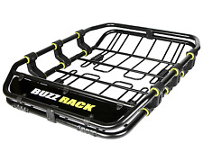 "BuzzRack Heavy Duty Roof Top Cargo Basket Premium Luggage Rack Carrier 47""x 35"""